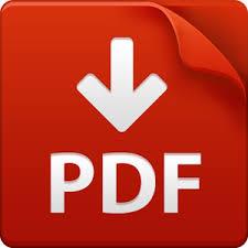 PDF-symbol for gratis skabelon til lejekontrakt i PDF-format